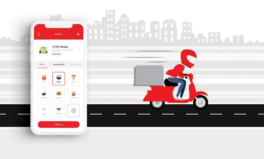 Cost to Develop Food Delivery App like Uber Eats